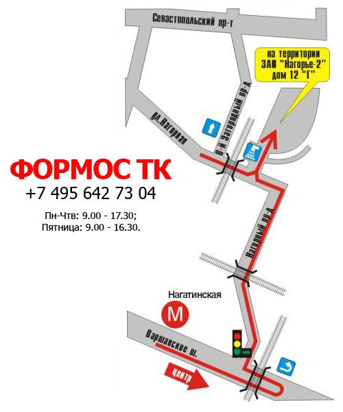 Карта/Схема проезда